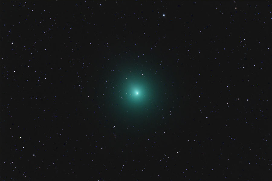 Comet 46p/Wirtanen on 2nd Dec 2018