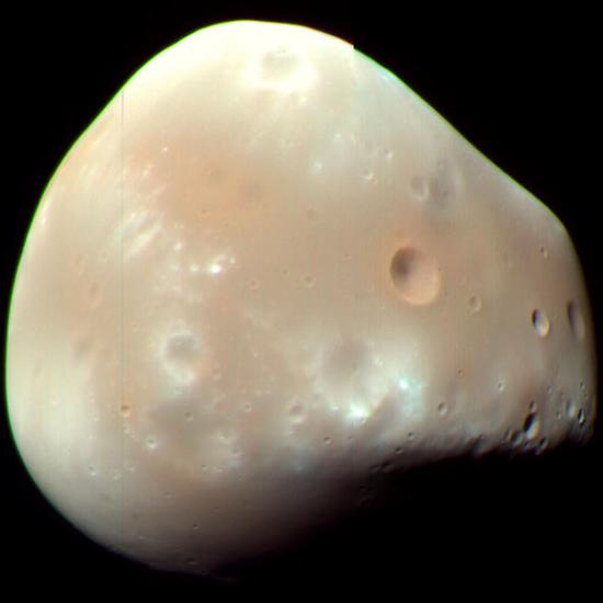 Deimos by NASA/JPL-caltech/University of Arizona